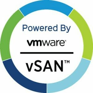 Powered by vSAN